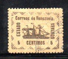 Y1895 - VENEZUELA 1903 , Yvert Usata N. 87 - Venezuela