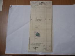 FATTURA ESATTORIA DI VARESE CREDITO VARESINO 1932 - Italia