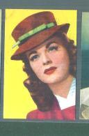MARGUERITE CHPMAN -FIGURINA N-26-,ARTISTI DEL CINEMA..CASA EDITRICE ASTRA.1951 - Cinema & TV