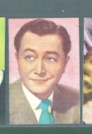 ROBERT YOUNG -FIGURINA N-47-,ARTISTI DEL CINEMA..CASA EDITRICE ASTRA.1951 - Cinema & TV