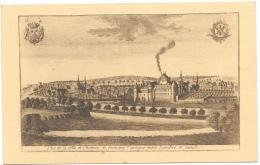 Fontaine-l´Evêque N6: Vue De La Ville Et Du Château Entre Sambre Et Meuse - Fontaine-l'Evêque