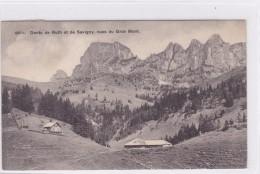 Dents De Ruth Et De Savigny, Vues Du Gros Mont. Chalets - FR Fribourg