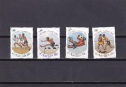 Zambia Nº 302 Al 305 - Zambia (1965-...)