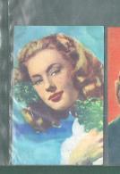 ALBA ARANOVA -FIGURINA N-9-,ARTISTI DEL CINEMA..CASA EDITRICE ASTRA.1951 - Cinema & TV