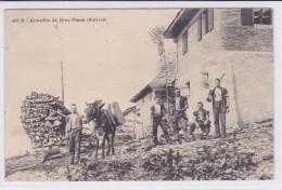 Armaillis Du Gros-Plané (Moléson, Incendié Vers 1920). Fromagers. Muletier - FR Fribourg