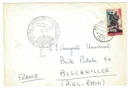 1° MOSTRA NAZIONALE FILATELIA ESPLORAZIONI POLARI - RRR - ANNO 1965 ITALIA - MARCOFILIA - 1961-70: Storia Postale