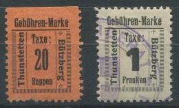 1248 - THUNSTETTEN Fiskalmarken - Fiscaux