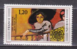 N° 1841 Europa Tableau De Van Domgen: Timbre Neuf Sans Charnière - Unused Stamps