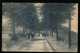 QUAREMONT == AVENUE DU VIEUX CHATEAU DE CALMONT  -  KREUK LINKER BOVENHOEK - Mont-de-l'Enclus