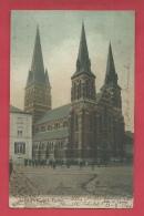 Châtelet - L'Eglise - Jolie Carte Couleur - 1906 ( Voir Verso ) - Châtelet