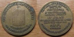 Jeton USA Commercial National Bank RALEIGH - Monétaires/De Nécessité