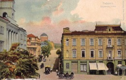 RUSSIA : GEORGIA - CAUCASE : TIFLIS [ TBILISI ] DVORTSOVAYA ULITSA / PALACE STREET - YEAR ~ 1910 - RARE !!! (u-078) - Géorgie