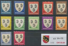 1257 - WATTENWIL Fiskalmarken - Steuermarken
