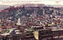 RUSSIA : GEORGIA - CAUCASE : TIFLIS [ TBILISI ] PONT MAÏDANSKY Et RUINES De LA FORTERESSE ~ 1910 - RARE !!! (u-083) - Géorgie