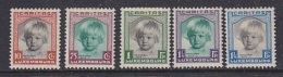 Luxemburg 1931 Caritas 5v * Mh (=mint, Hinged)  (27807) - Ongebruikt