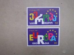 Georgien   Mitläufer   Aufnahme Georgiens In Den Europarat  1999      ** - Europäischer Gedanke