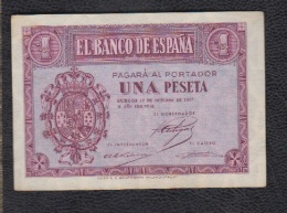 EDIFIL D26    1 PTA 12 DE OCTUBRE DE 1937.   SERIE A - [ 3] 1936-1975 : Régence De Franco