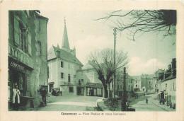 19 DONZENAC  Place Pauliac Et Route Nationale Coiffeur   2 Scans - Frankrijk