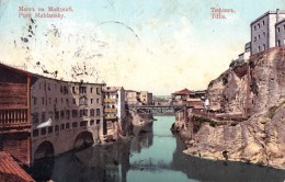 RUSSIA : GEORGIA - CAUCASE : TIFLIS [ TBILISI ] PONT MAÏDANSKY / MAÏDANSKY BRIDGE ~ 1910 - RARE !!! (u-086) - Géorgie