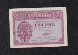 EDIFIL D26    1 PTA 12 DE OCTUBRE DE 1937.   SERIE C - [ 3] 1936-1975 : Régence De Franco