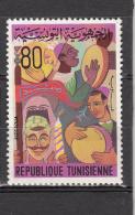 """Tunesie 1972 Mi Nr 793  """"Aissaoua""""    Postfris Met Plakker - Tunesië (1956-...)"""