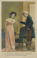 """FANTAISIE COUPLE HOMME FEMME Ed Croissant : """" Le Petit Bec Passa De Sa Bouche à La Mienne """" Oiseau - Couples"""