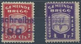 1269 - BRÜGG Fiskalmarken - Fiscaux