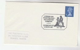 1973 GB Stamps COVER EVENT Pmk Illus COPERNICUS , Copernicana POLISH DOCUMENTARY EXHIBITION Astronomy Poland - Astronomy