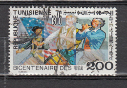 Tunesie 1976 Mi Nr 895    200 Jaar USA - Tunesië (1956-...)