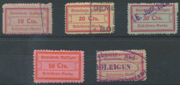 1273 - BOLLIGEN Fiskalmarken - Fiscaux