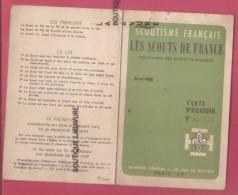 CARTE D'ECLAIREUR Scoutisme Français-Les Scouts De France-Bordeaux-Groupe Saint Louis--1961 - Mappe