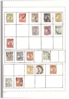 Australia Collezione Usata 1913-2011 Compreso Mancanti Soltanto Francobolli Come Da Foto - Dal 1929 è Tutta Completa Con - Collections