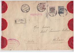 Regno D'Italia (1914) - ESPRESSO URGENTE - Descrizione In Perizia (3 Scan) - Storia Postale