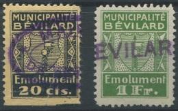1278 - BÉVILARD Fiskalmarken - Fiscaux