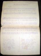 La Chanson De Ségounde - Chant Populaire Partition Musicale Avec Paroles En Patois - état Correct - Bien Lire Descriptif - Partitions Musicales Anciennes