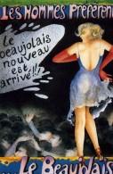 """PUBLICITE   L 37  """"  LE BEAUJOLAIS      """"   ED     CPM / CPSM  10 X 15   TBE - Publicité"""