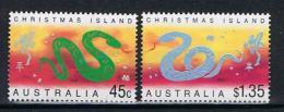 Christmaseiland Y/T 483 / 484  (**) - Christmas Island
