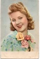 N° 19  : FANTAISIE FEMME : Fleurs , Roses - Femmes
