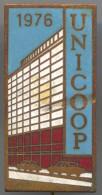 UNICOOP - Enamel, Vintage Pin Badge, D 40 X 20 Mm - Autres