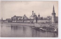 Russie - Vue Du Kremlin Et La Moscova - Russie