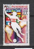 Tunesie 1978 Mi Nr 931 WK Voetbal Football - Tunesië (1956-...)