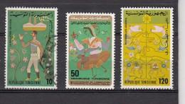 Tunesie 1978 Mi Nr 934 - 936 - Tunesië (1956-...)