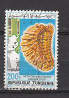 Tunesie 1982 Mi Nr 1030 Fossiel - Tunesië (1956-...)
