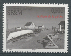 Saint Pierre And Miquelon, Remains Of Fishing, 2016, MNH VF - Unused Stamps