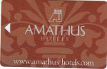 GREECE - Amathus, Hotel Keycard, Sample - Cartes D'hotel