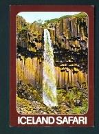 ICELAND  -  Svartifoss  Waterfall  Unused Postcard - Iceland