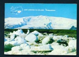 ICELAND  -  Vatnajokull Glacier Unused Postcard - Iceland