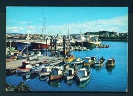 ICELAND  -  Hafnarfjorour Harbour Unused Postcard - Iceland