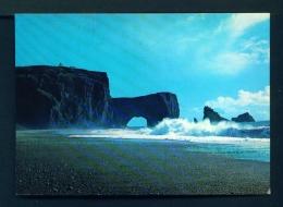ICELAND  -  Dyrholaey  Unused Postcard - Iceland