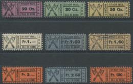 1284 - BIEL BIENNE Fiskalmarken - Steuermarken